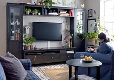 Nappali szoba berendezés, bútor ötletek - IKEA katalógus 2015