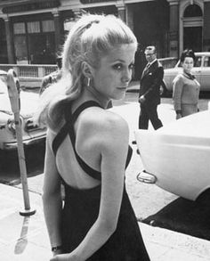 Catherine Deneuve #BellesDeJour #netaporter - thought this was Gwen!!