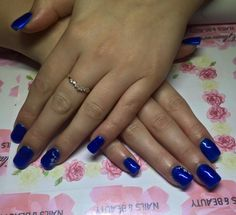 Gel extensions with gel polish