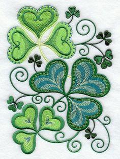 irish quilts patterns make great tattoo design ideas.