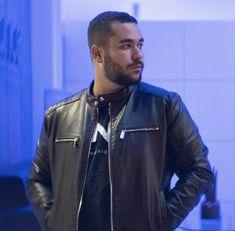 Leather Jacket, Jackets, Motorcycle, Fashion, Studded Leather Jacket, Down Jackets, Moda, Leather Jackets, Fashion Styles