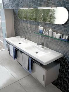 PRODUCTS | LAUFEN Bathrooms Room, Double Vanity, House, Home Decor, Bathroom Vanity, Bathroom, Laufen Bathroom, Bath Inspiration, Sink