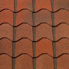 Venetian Coral #gaf #designer #roof #shingles #swatch