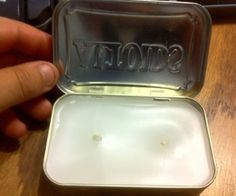A simple tutorial to teach you how to make an easy candle for camping or surviving in the wild, using an ALTOIDS tin ~