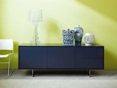 Buffet avec portes avec tiroirs SHADOWS Collection Tempo libero by Novamobili | design Giopato