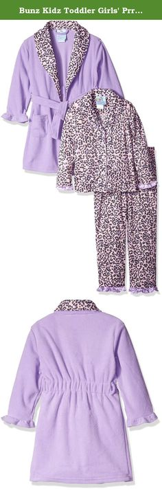 53cdb4e78e Bunz Kidz Toddler Girls  Prrfect Robe and Pajama Set