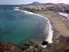 Playa del Burrero en Ingenio - Gran Canaria Canario, Canary Islands, Holidays, Beach, Water, Travel, Outdoor, Wonderful Places, Palmas