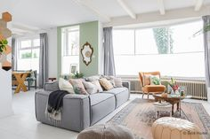 XL Hometour binnenkijken woonkamer inrichten ©BintiHome