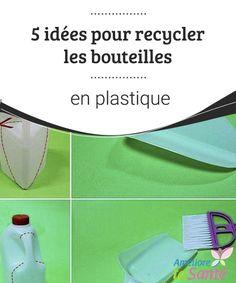 5 idées pour recycler les bouteilles en plastique   Les bouteilles en plastique ont un très grand indice de pollution environnementale. Bien qu'elles puissent être recyclées, de nombreuses sont accumulées par exemple dans nos rivières et océans, en devenant des éléments nocifs à tenir en compte.