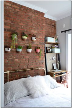 7 Unheard Of Ways To Achieve Greater Eclectic Home Decor,  #achieve #Decor #Eclectic #Greater #Home #Unheard #Ways Apartment Walls, Apartment Bedroom Decor, Apartment Design, Bedroom Wall, Bed Room, Apartment Therapy, Studio Apartment, Apartment Living, Master Bedroom