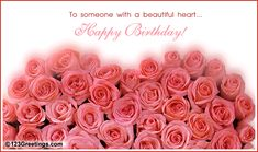 birthday wishes for friends | Birthday Roses For You! Free Flowers eCards, Greeting Cards | 123 ...