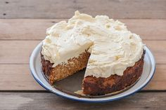 This week on Stonesoup Paleo Carrot Cake w Maple Cream Cheese Frosting!