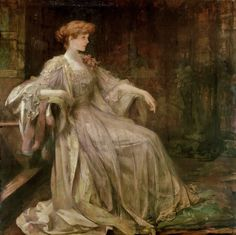 "1890, ""Violet, Duchess of Rutland"" - Sir James Jebusa Shannon (1862–1923)"