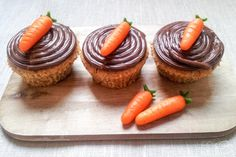 Karottenmuffins - LECKER&Co   Foodblog aus Nürnberg