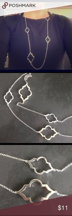 Silver chain necklace New with tags. Falls to just above the belly button. BUNDLE DISCOUNTS Jewelry Necklaces