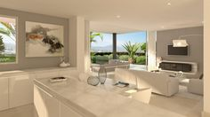 Modern design apartments & penthouses project for sale in Marbella