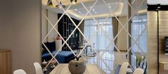 Modern Interior Design Mirrorwall Contemporary Interior