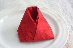 Сервировка Складывание салфеток Урок №11 Napkin Napkins