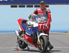 """John McGuinness, """"I've only been in the country for a day and already I've got sunburn on my head,"""" said McGuinness. """"But it's great to be b..."""