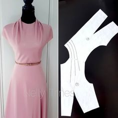 Amazing Sewing Patterns Clone Your Clothes Ideas. Enchanting Sewing Patterns Clone Your Clothes Ideas. Sewing Dress, Dress Sewing Patterns, Sewing Patterns Free, Sewing Clothes, Clothing Patterns, Diy Clothes, Shirt Patterns, Barbie Clothes, Pattern Draping
