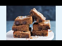 Salted Caramel Chocolate Brownies Video | Donna Hay
