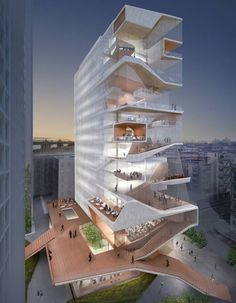 Columbia University Medical Center Education Building in New York, USA by Diller Scofidio + Renfro, Lead Designer, and Gensler, Executive Architect