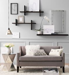 Floating Wall Shelves | Creative Floating Shelves Design to Decorate Your Interior Wall Ideas ...
