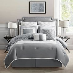 MARION 9PC COMF GRAY-KING