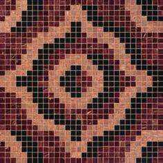 #Bisazza #Decori 2x2 cm Velvet Brown | Feinsteinzeug | im Angebot auf #bad39.de 728 Euro/Pckg. | #Mosaik #Bad #Küche