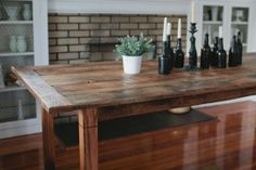Farmhouse Table Reclaimed Wood | currently available for purchase in the store