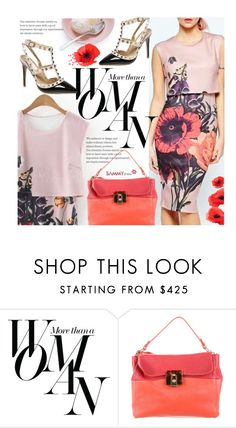 """""""Spring Slyle: Floral Print Dress"""" by beebeely-look ❤ liked on Polyvore featuring Sarah Jessica Parker, Lanvin, dress, SpringStyle, sammydress, springfashion and StreetChic"""