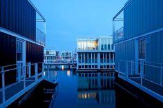 En fotos: Casas flotantes, una nueva tendencia en construcción