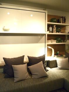 Customized Sofa/Bed system by Clei