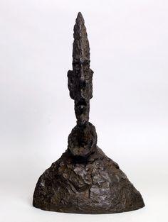 Alberto Giacometti. Large Narrow Head 1954