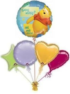 """Send your best wishes with a fabulous Get Well Soon """"Sunshine"""" balloons by post. Lots of get well balloons to choose from. Helium filled get well balloons by post! Free post on all orders, guaranteeing a great surprise. Happy 13th Birthday, 65th Birthday, Happy Birthday Cards, Friend Birthday, Birthday Wishes, Birthday Cakes, Birthday Smiley, Special Birthday, Birthday Celebration"""