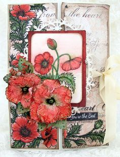 you're the best poppy card by Susan Smit