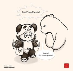 Become a patron of Panda and Polar Bear today: Read 302 posts by Panda and Polar Bear and get access to exclusive content and experiences on the world's largest membership platform for artists and creators. Panda Hug, Baby Panda Bears, Panda Love, Love Bear, Cute Panda Cartoon, Bear Cartoon, Polar Bear Drawing, Baby Animals, Cute Animals