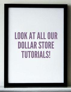 dollarstoremom.com tutorials