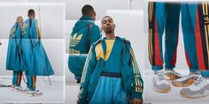 Bed J. Ford Rejoins adidas for Transformative Collaboration: Kimono-inspired outerwear, updated tracksuits and revamped sneakers. Ford 2020, Spring Starts, Summer Collection, All Star, Adidas Originals, Collaboration, Kicks, Dressing, Spring Summer