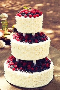 The Most Popular Elegant Wedding Cakes ❤ See more: http://www.weddingforward.com/elegant-wedding-cakes/ #weddings
