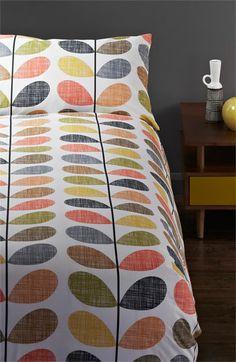 Orla Kiely 'Scribble Stem' Duvet Cover & Shams available at #Nordstrom. Love this!