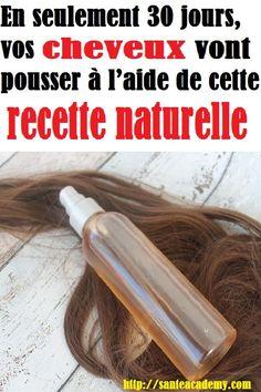 En seulement 30 jours, vos cheveux vont pousser à l'aide de cette recette naturelle Hair Oil, Aide, Ombre Hair, Hair Hacks, Easy Hairstyles, Hair Care, Hair Beauty, Hair Styles, Hair