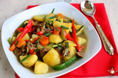 Beef and Potato Soup Dobbys Signature: Nigerian food blog | Nigerian food recipes | African food blog: Beef Recipes