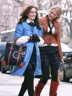 Shared by miiims. Find images and videos about goals, gossip girl and blair waldorf on We Heart It - the app to get lost in what you love. Gossip Girl Blair, Gossip Girls, Moda Gossip Girl, Gossip Girl Series, Estilo Gossip Girl, Girls Tv Series, Gossip Girl Seasons, Gossip Girl Outfits, Gossip Girl Fashion