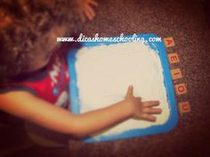 DICAS Homeschooling: Educação Infantil Alfabetização Sensorial com Voga...