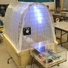 Hydroponic Greenhouse Monitoring and Control System