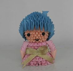 3D Origami - Little Doll