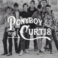 Ponyboy Curtis #lettering by Nicolas Fredrickson