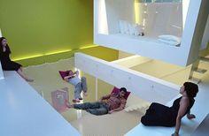 Vervang je vloer door een hangmat / www.woonblog.be