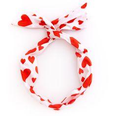 twist scarf - extreme supercute hearts #adroll #heart #hearts
